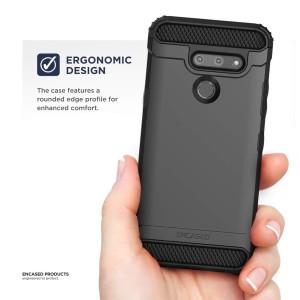 LG G8 Thinq Scorpio Case Black