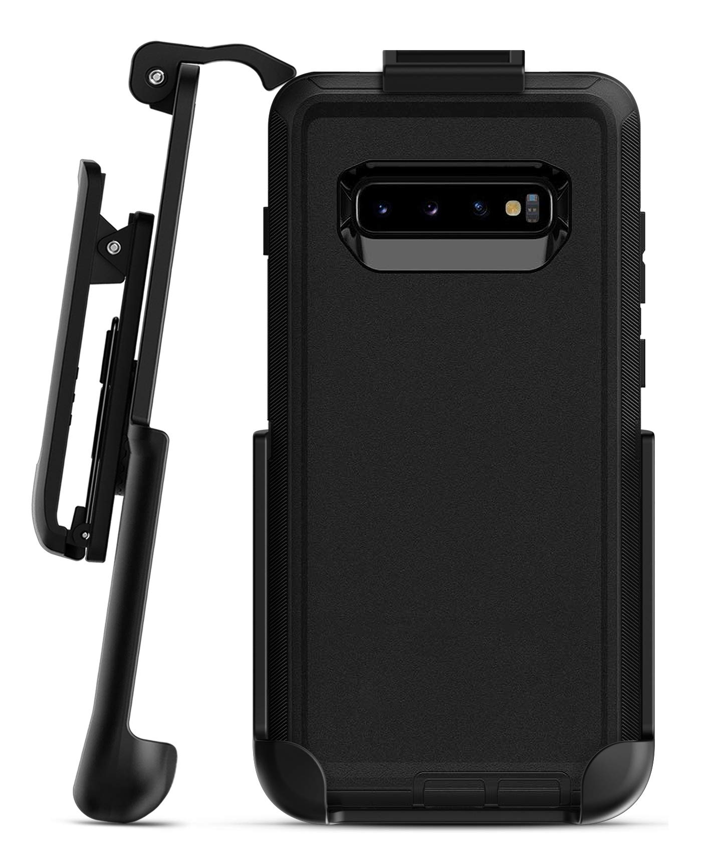 reputable site 1292d 03e37 Galaxy S10 Plus Otterbox Defender Holster Black
