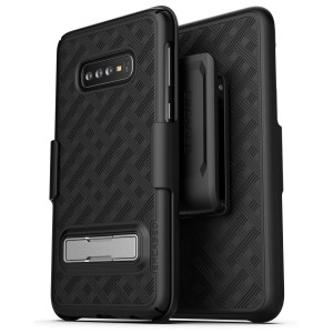 Galaxy S10 Plus Slimline Case And Holster Black