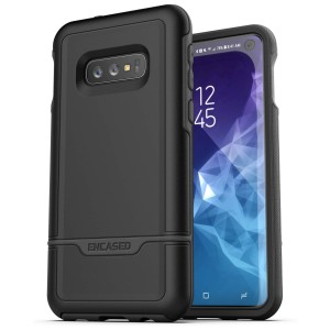 Galaxy S10e Rebel Case And Holster Black