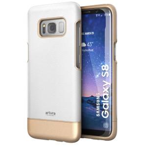 Galaxy S8 Artura Case White