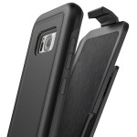 Galaxy S8 Rebel Case And Holster Black