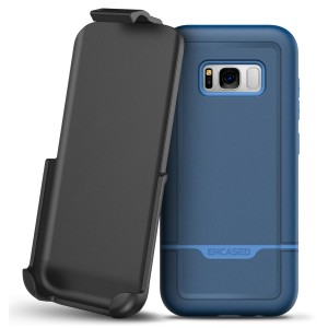 Galaxy S8 Rebel Case And Holster Blue
