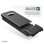 Galaxy S8 Rebel Case Black