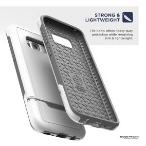 Galaxy S8 Plus Rebel Case White