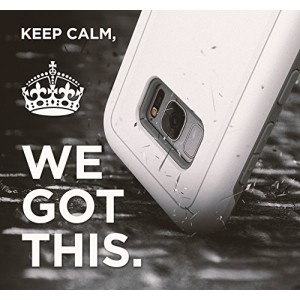 Galaxy S8 Rebel Case White