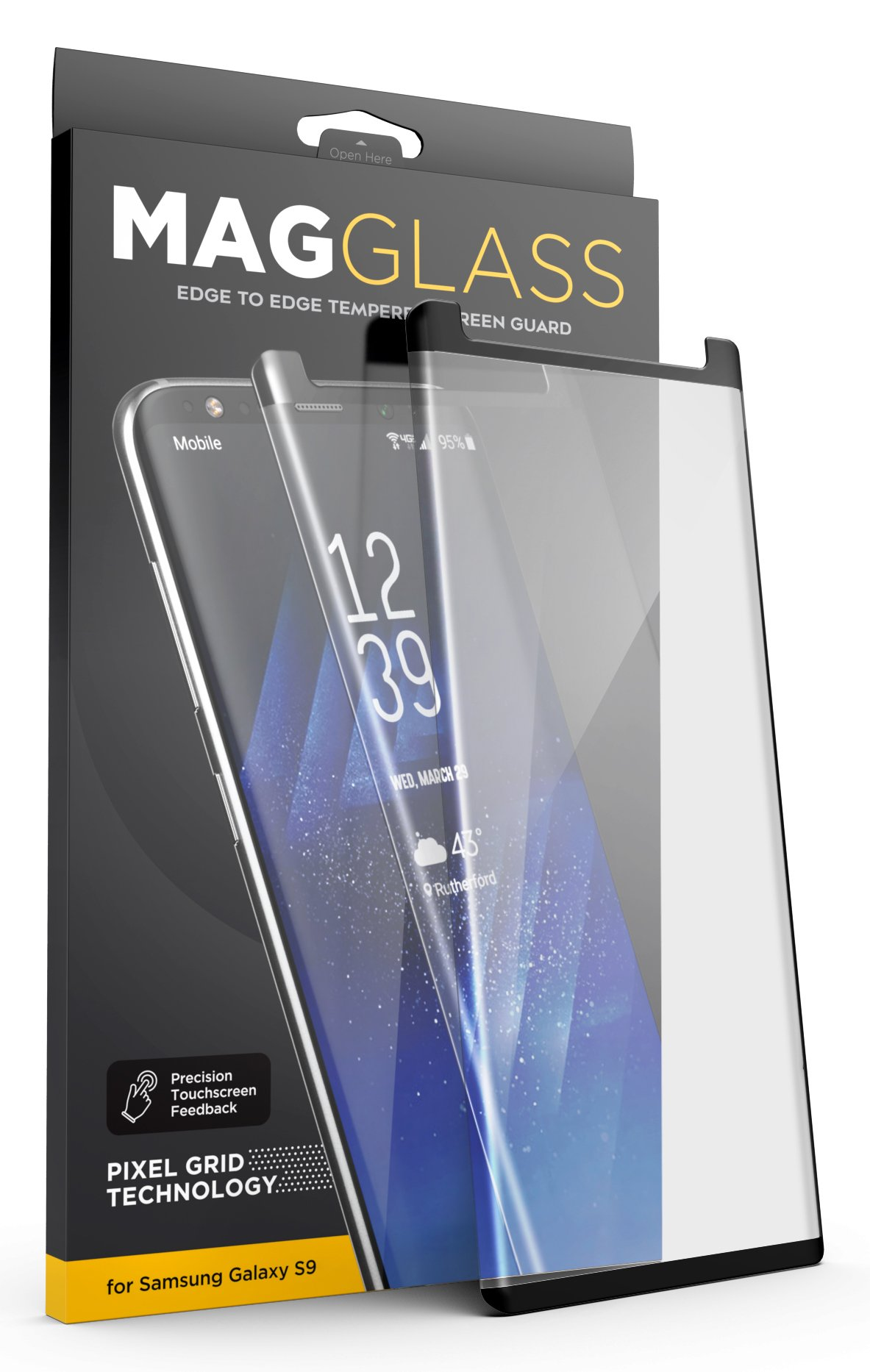 finest selection 7dd7a 1b64b Galaxy S9 Otterbox Defender Screen Protector - Encased