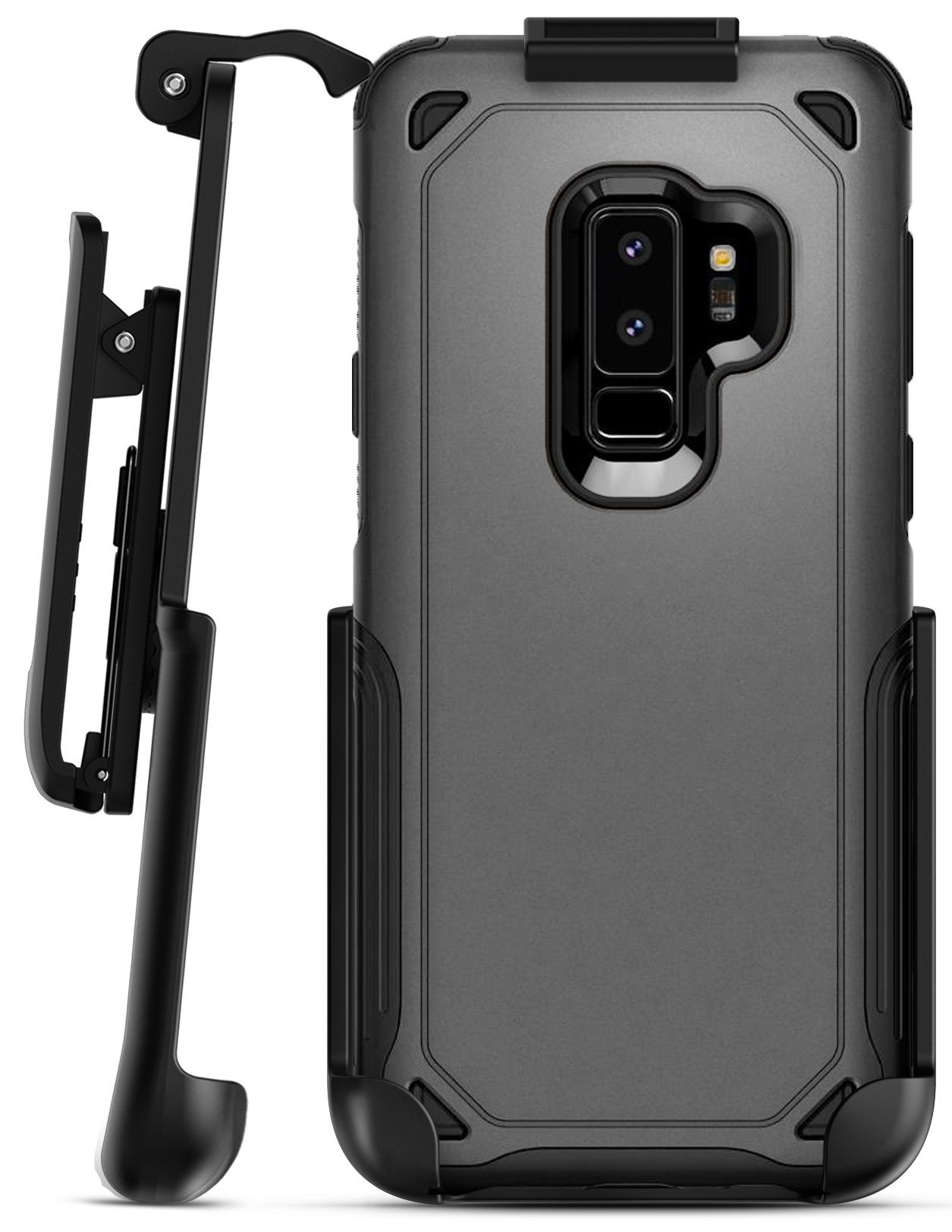 reputable site 40870 07549 Galaxy S9 Plus Spigen Hybrid Armor Holster