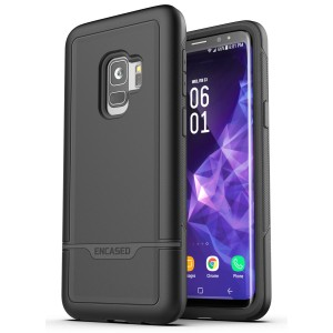 Galaxy S9 Rebel Case And Holster Black