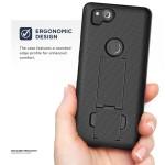 Google Pixel 2 Duraclip Case And Holster Black