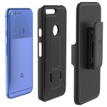 Google Pixel XL Duraclip Case And Holster Black