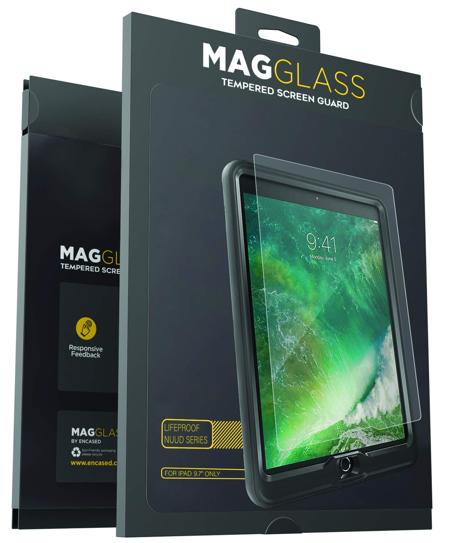 premium selection 2cda1 d0e9b iPad 9.7 Lifeproof Nuud Screen Protector