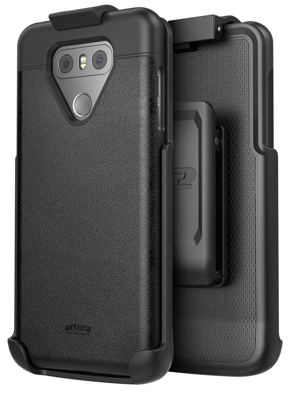 size 40 f57e3 7577a LG G6 Artura Case And Holster Black