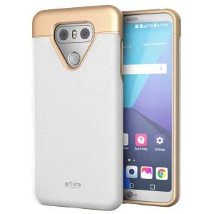 LG G6 Artura Case White