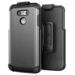 LG G6 Scorpio Case And Holster Grey