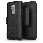 LG G7 Duraclip Case And Holster Black
