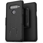 LG V40 Duraclip Case And Holster Black