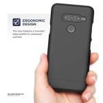 LG V40 Slimshield Case And Holster Black