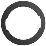 Lolli Lockit Ring in Black