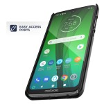 Moto G7 Duraclip Case And Holster Black