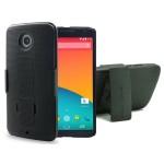 Nexus 6 Duraclip Case And Holster Black