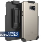 Note 5 Slimshield Case And Holster Gray