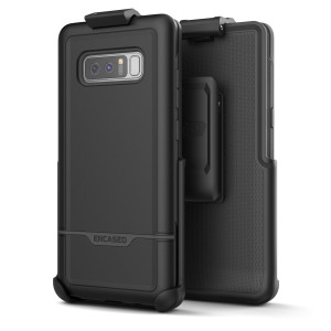 Note 8 Rebel Case And Holster Black