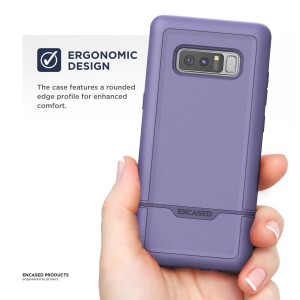 Note 8 Rebel Case Purple