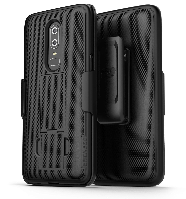 the best attitude dec02 7b899 Oneplus 6 Duraclip Case And Holster Black - Encased