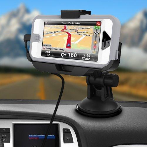 more photos 22dc5 b6a54 iPhone 5 Otterbox Defender Car Mount - Encased
