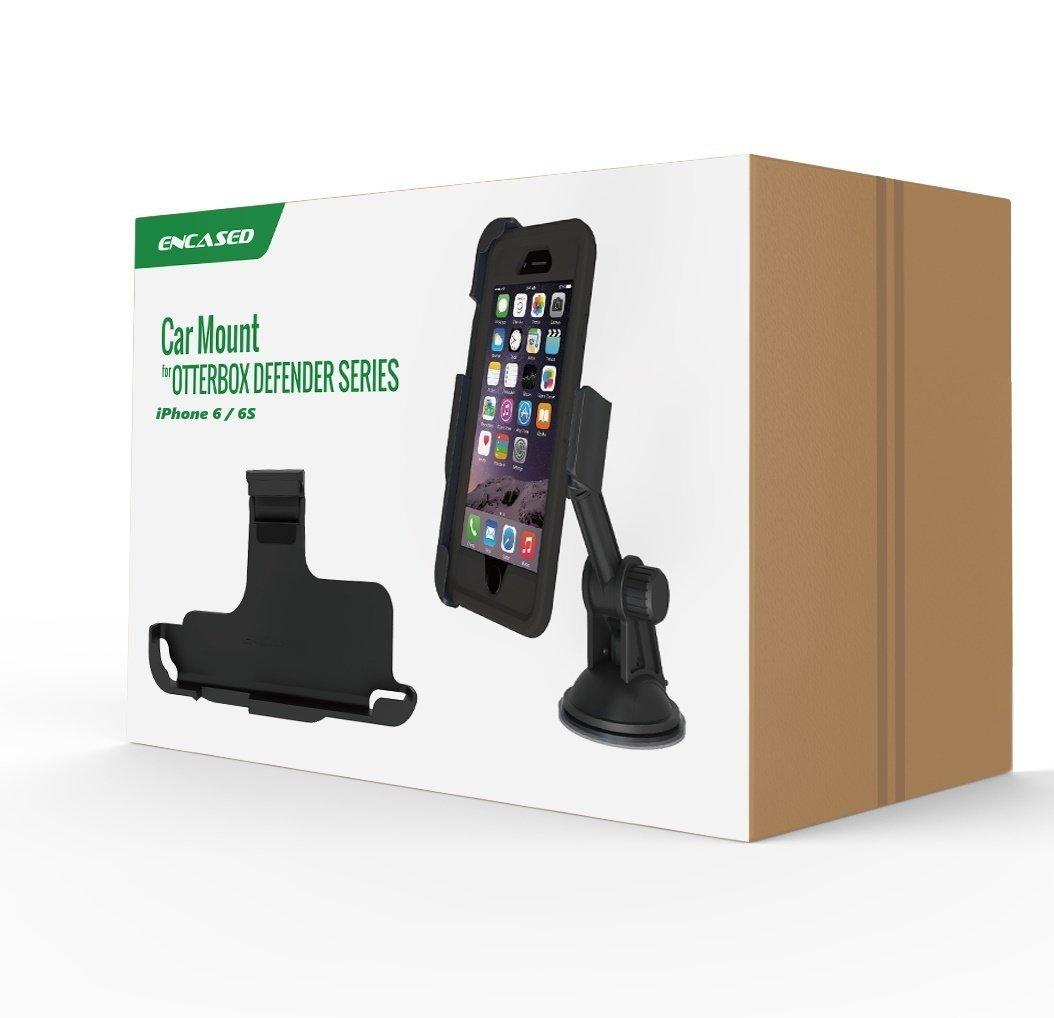 iPhone 6s Otterbox Defender Car Mount - Encased