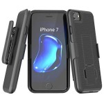 iPhone 7 Duraclip Case And Holster Black