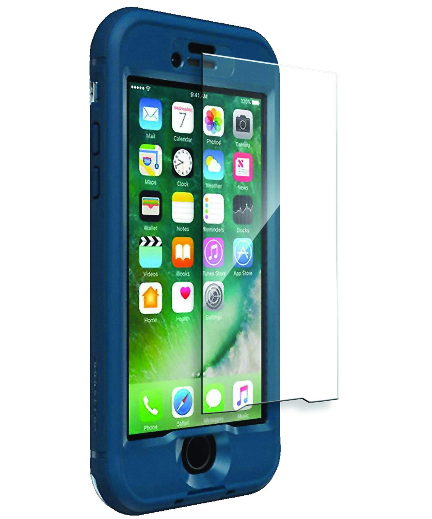wholesale dealer 3c7a4 5cbf4 iPhone 7 Lifeproof Nuud Tempered Glass Clear - Encased
