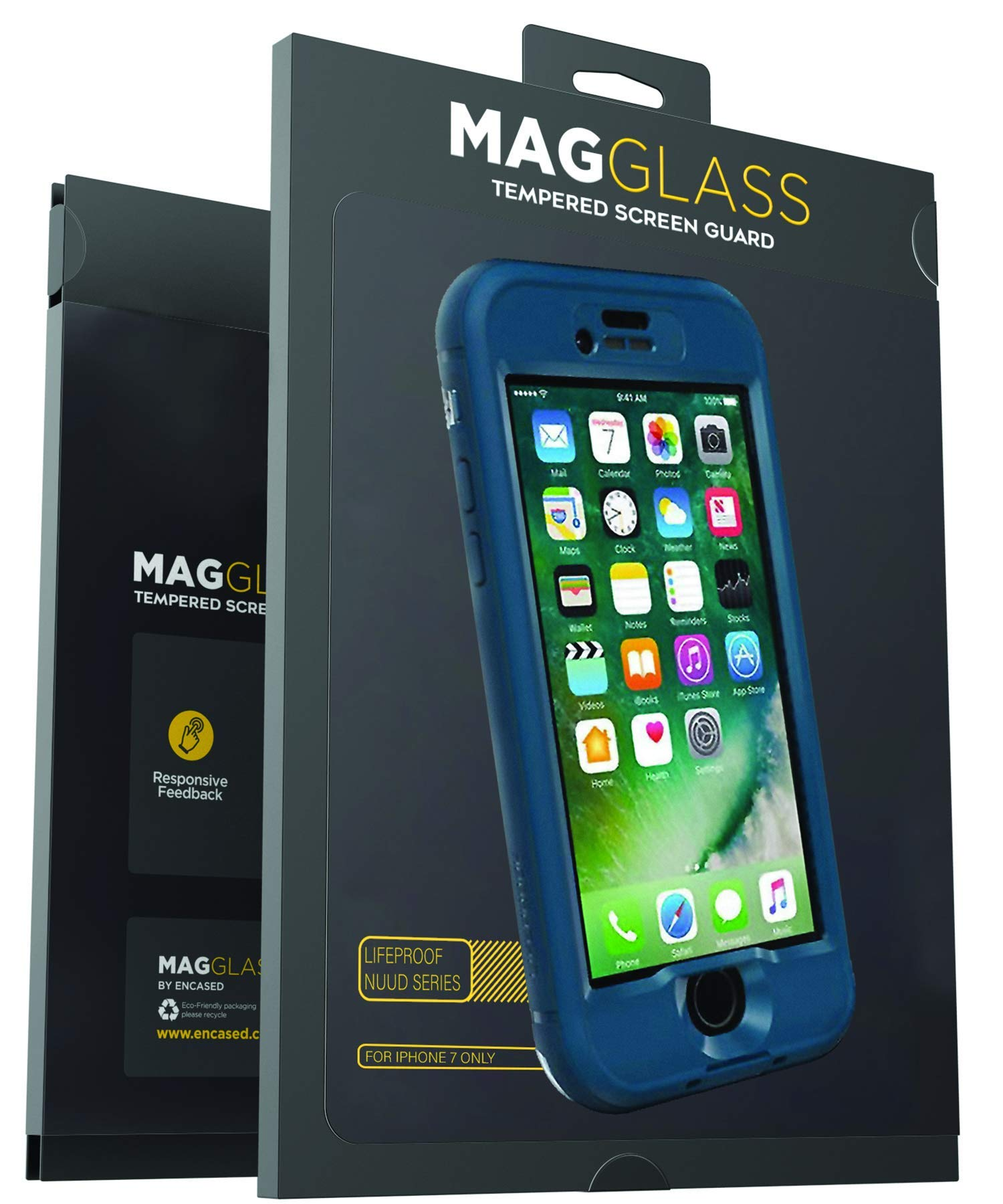timeless design c2405 6bd45 iPhone 7 Lifeproof Nuud Tempered Glass Clear