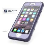 iPhone 7 Plus American Armor Case Purple