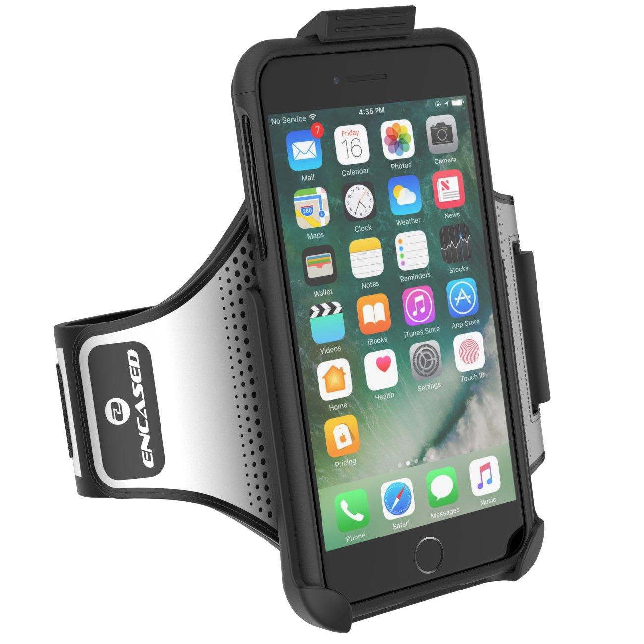 iPhone 7 Plus SlimShield Armband Black - Encased