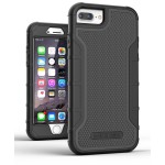 iPhone 8 Plus American Armor Case Black