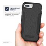 iPhone 8 Plus American Armor Case Black
