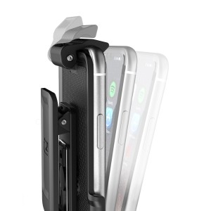 iPhone X Clipmate Holster Black