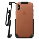 iPhone X Apple Leather Holster Black