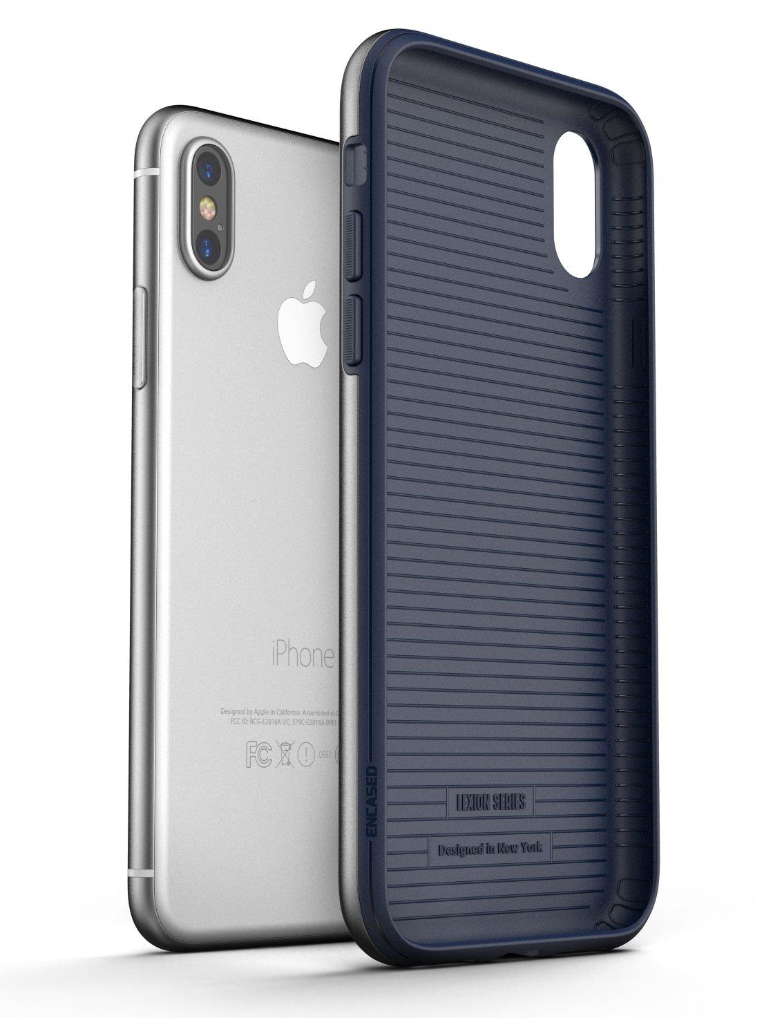 iPhone X Lexion Case Blue - Encased