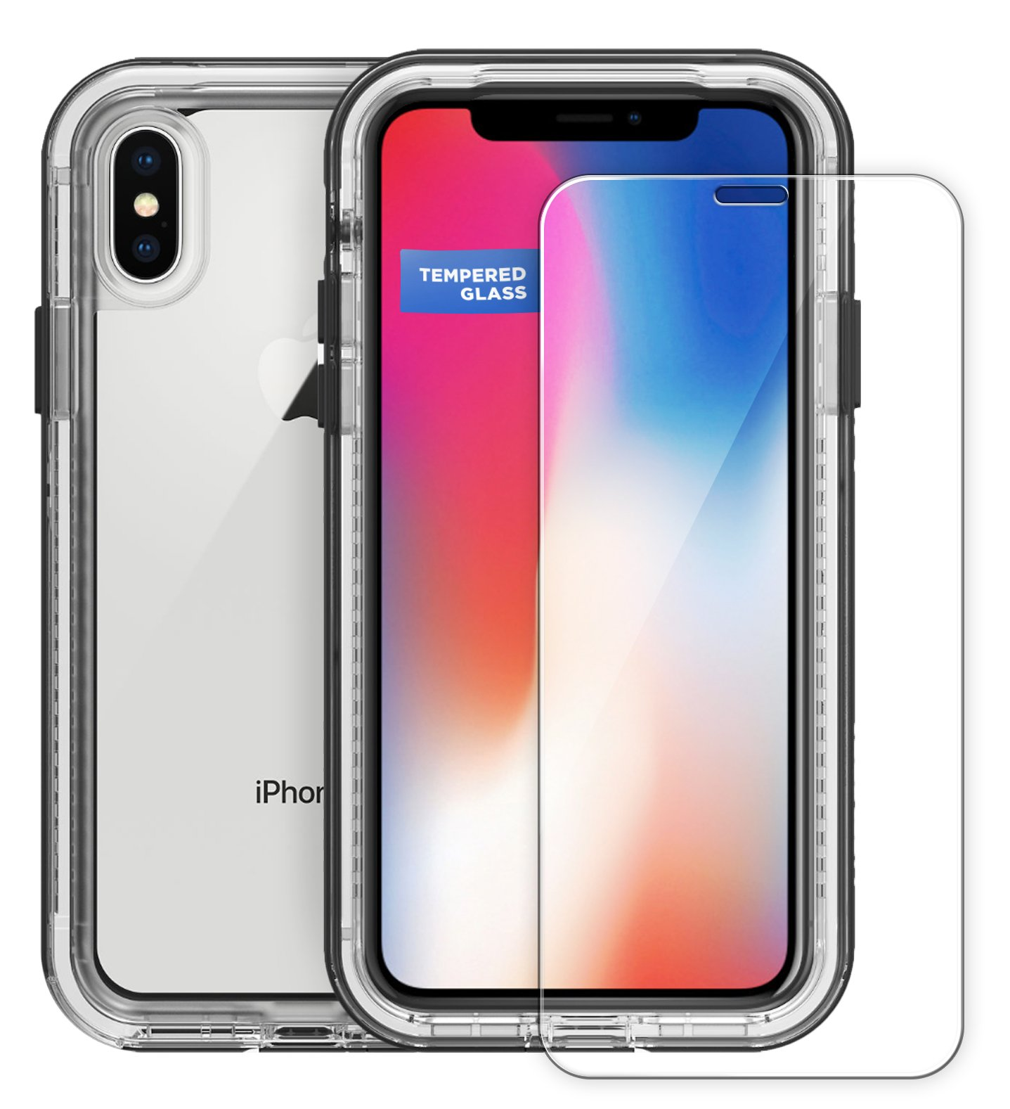 timeless design f5ad9 e6973 iPhone X Lifeproof Next Screen Protector