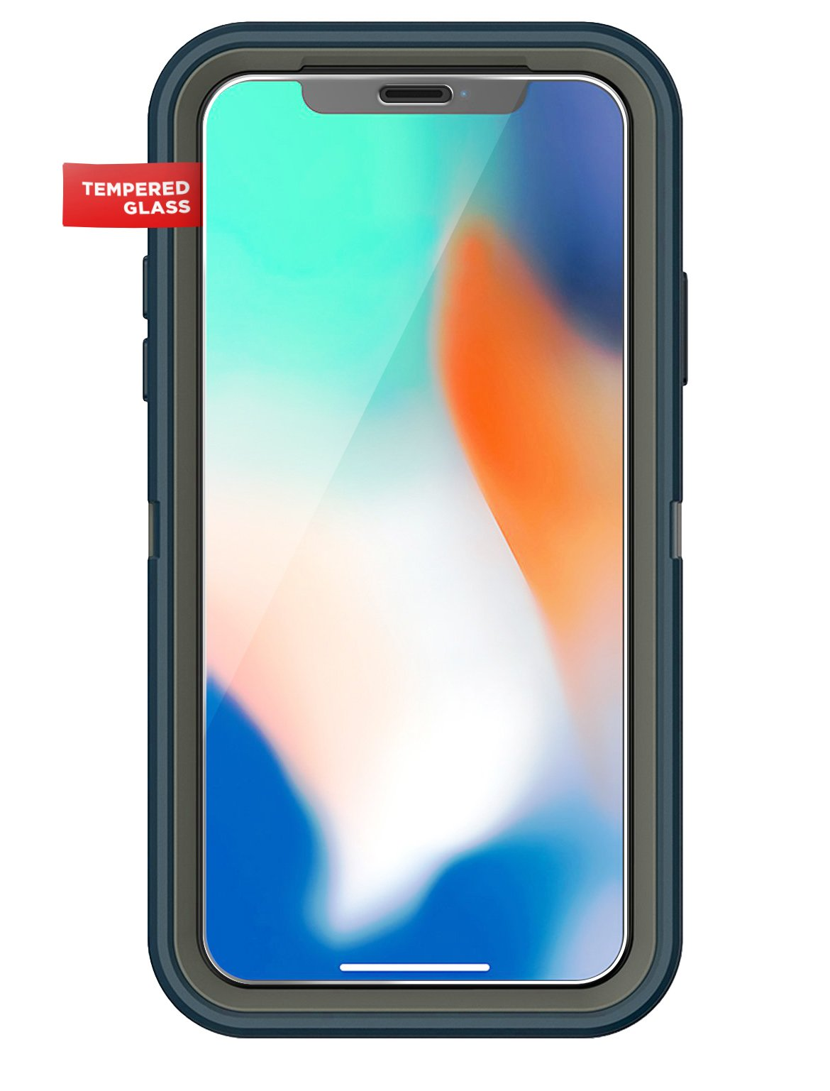 brand new bfc7a d458f iPhone X Otterbox Defender Screen Protector - Encased