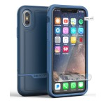 iPhone X Rebel Case And Holster Blue