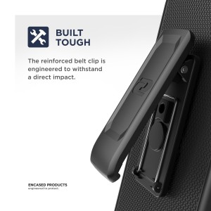 Galaxy S10 5G Duraclip Case And Holster Black