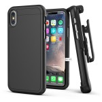 iPhone X Slimshield Case And Holster Black