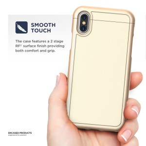 iPhone X Slimshield Case Gold