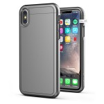 iPhone X Slimshield Case And Holster Grey