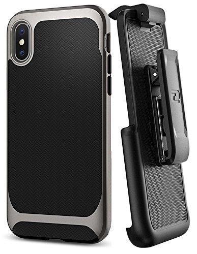 brand new caeb6 bac4f iPhone X Spigen Neo Hybrid Holster