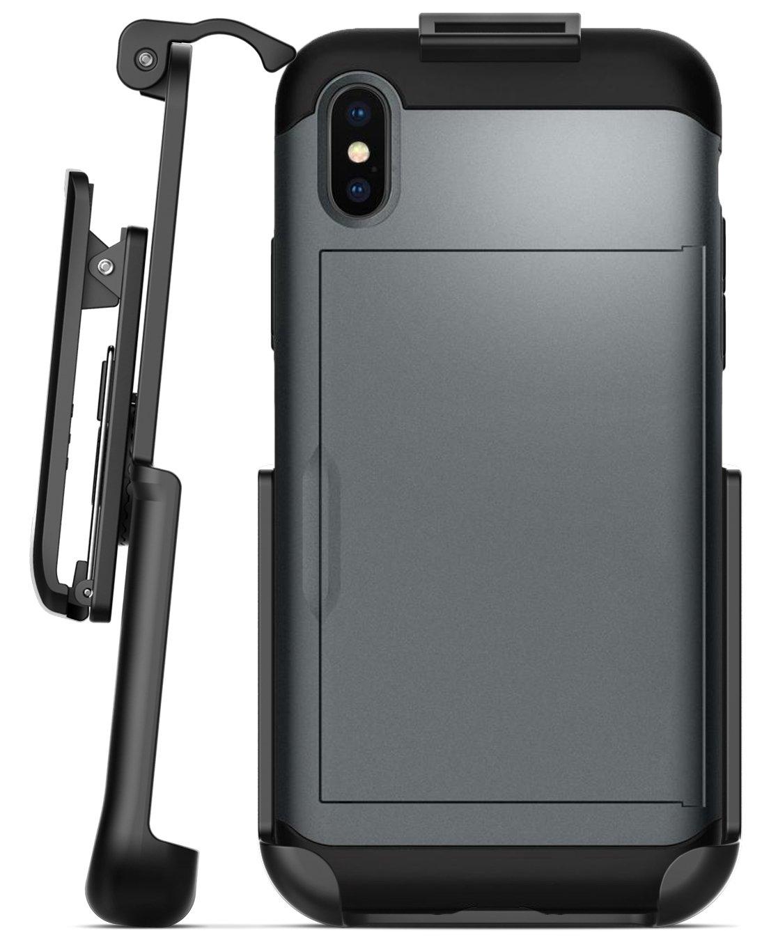san francisco 24d13 c529e iPhone X Spigen Slim Armor Cs Holster